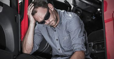 Mental health tips for truckers