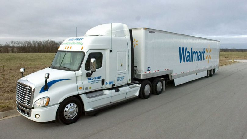 how much does walmart truck driver make