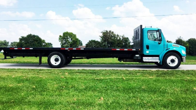 What is Flatbed Truck